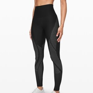 """Lululemon Mapped Out High Rise Tight Leggings 28"""""""